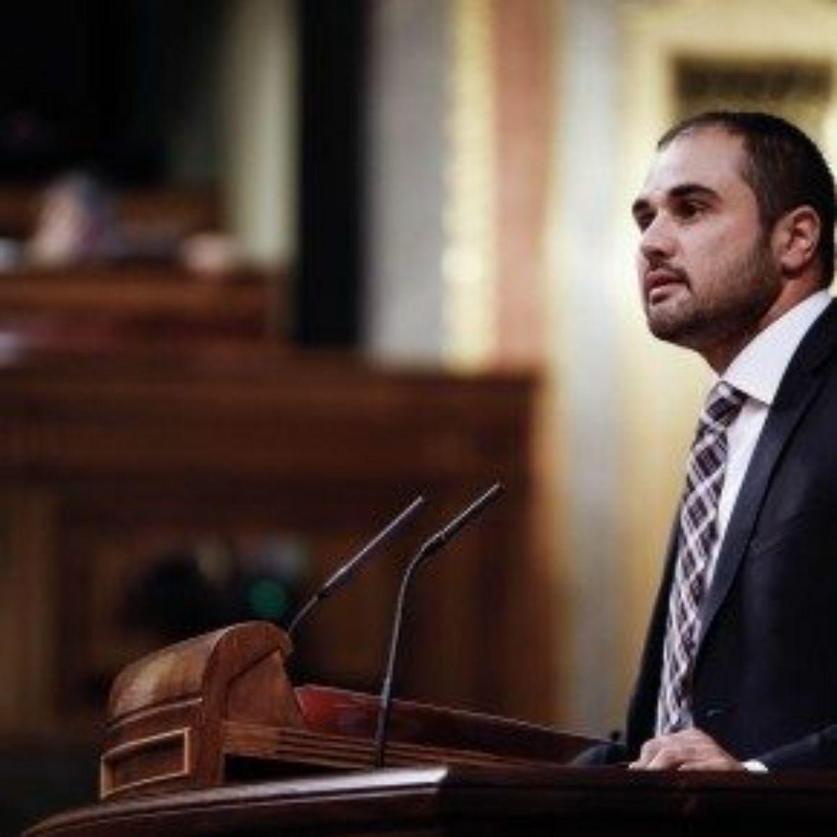 Ricardo Gómez, diputado por Ciudadanos en el Congreso de los Diputados