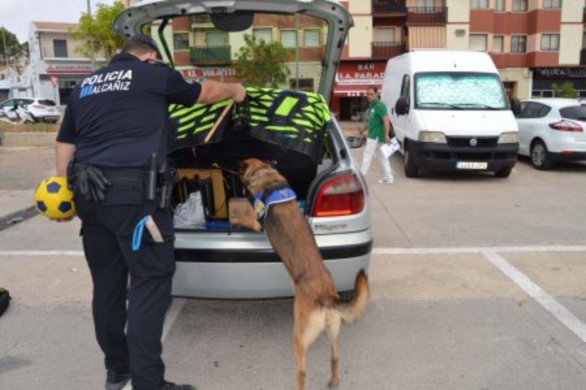 alcaniz policia