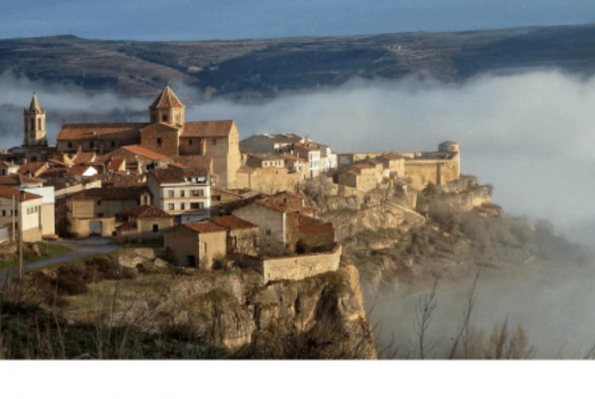 Vista de Cantavieja, uno de Los Pueblos más Bonitos de España