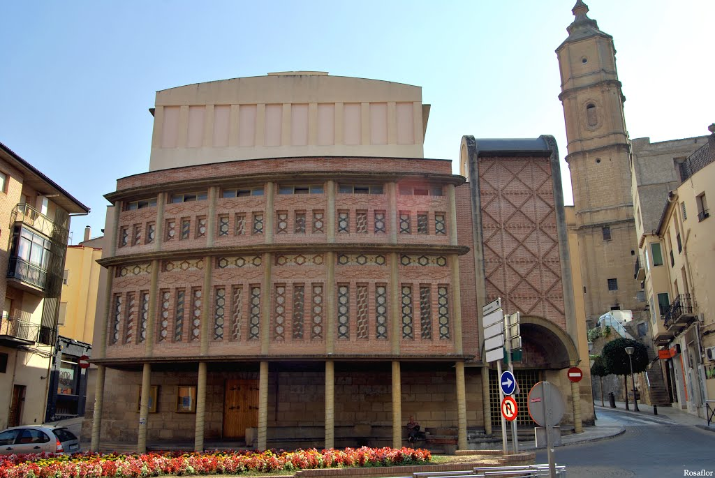 Fachada del Teatro de Alcañiz./ L.C.