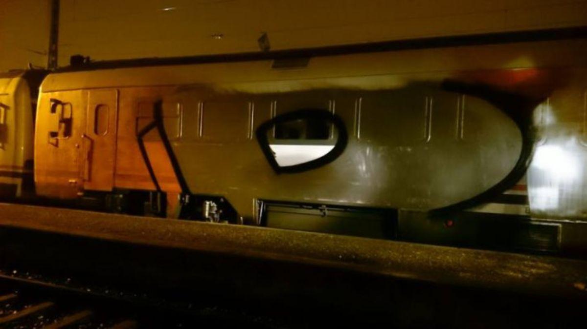 Los daños de estas pintadas están valorados en 10.000 euros