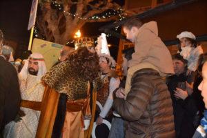 Los Reyes Magos fueron recibidos con gran expectación