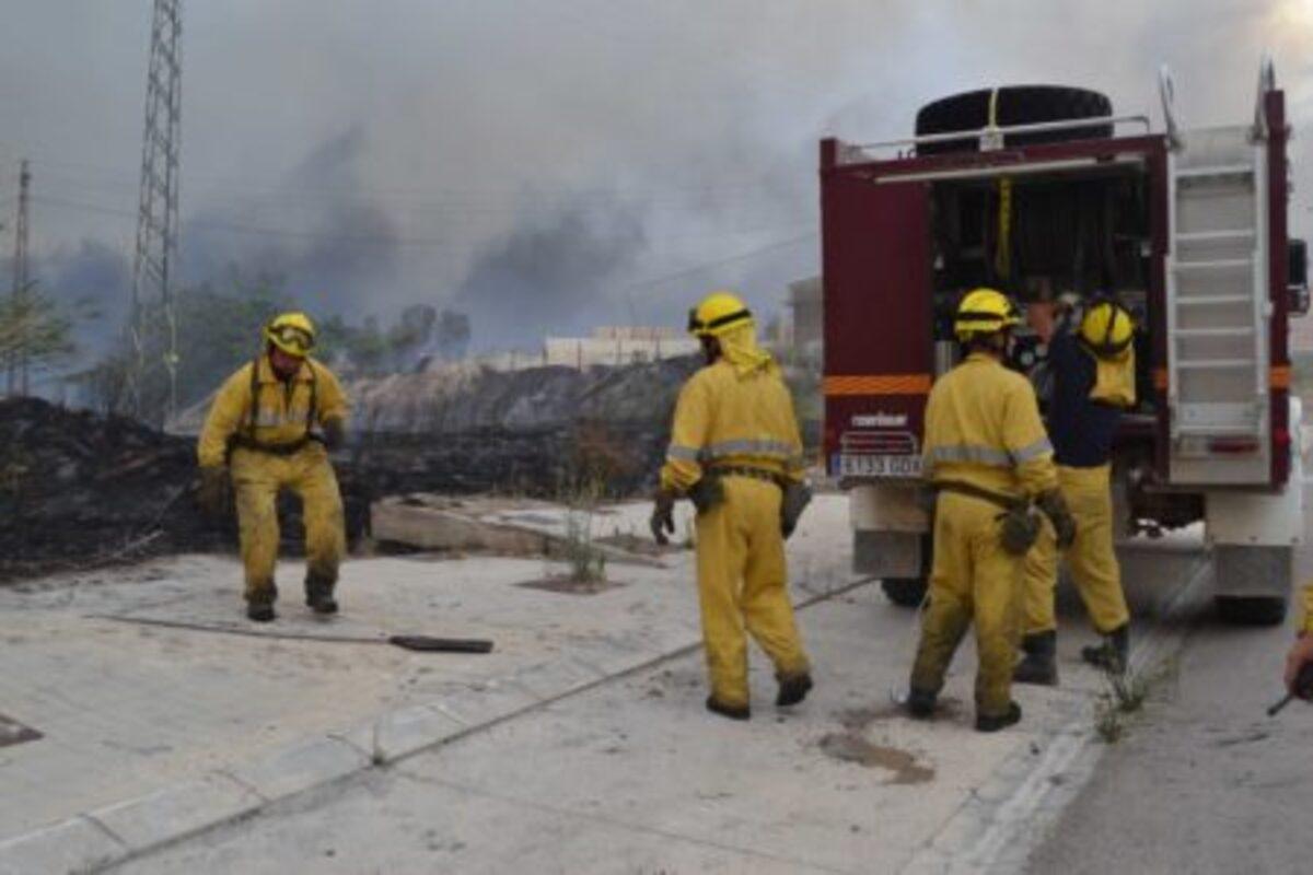 incendio alcaniz
