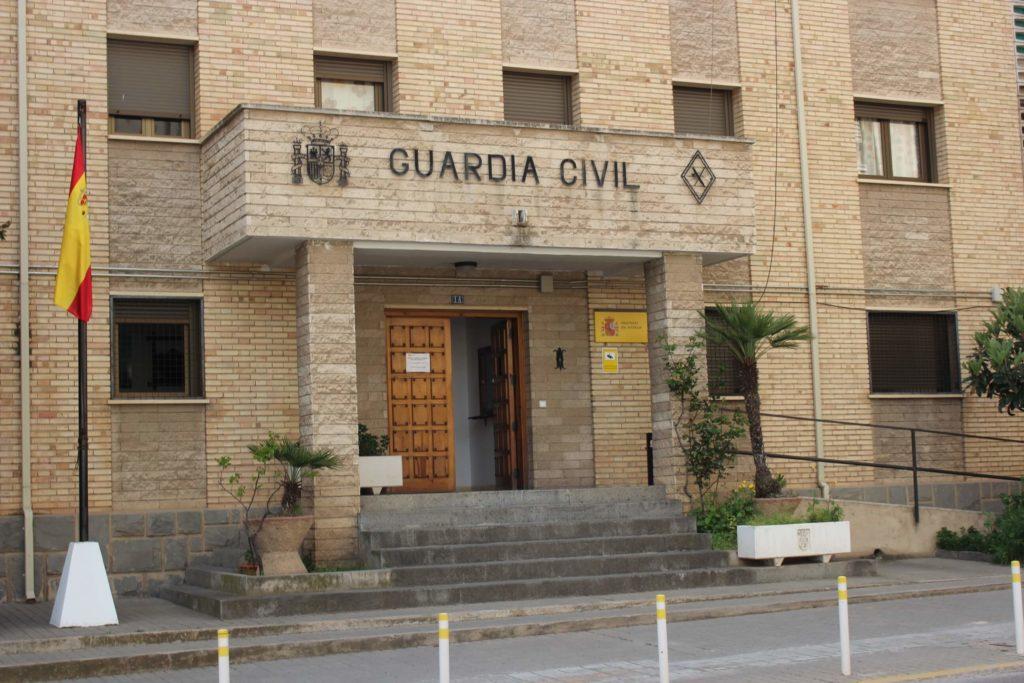 cuartel guardia civil alcaniz