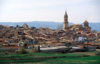 Alfombras de serrín en Aguaviva