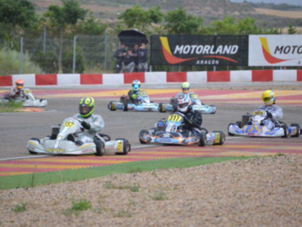 Campeonato Aragón de Karting en Motorland Aragón