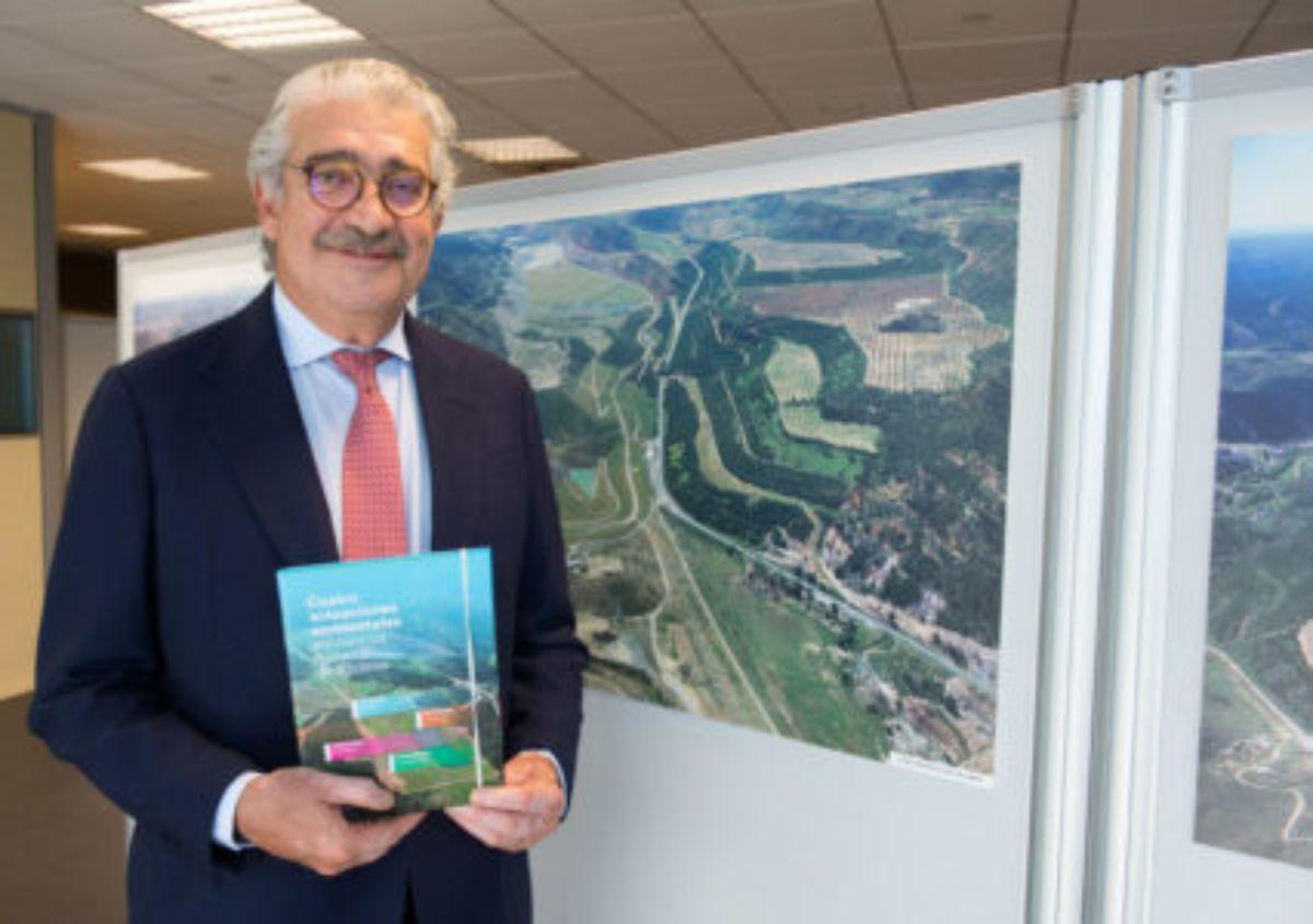 José Bogás el año pasado durante la presentación de un libro sobre la restauración de las minas de Teruel. M.Q.