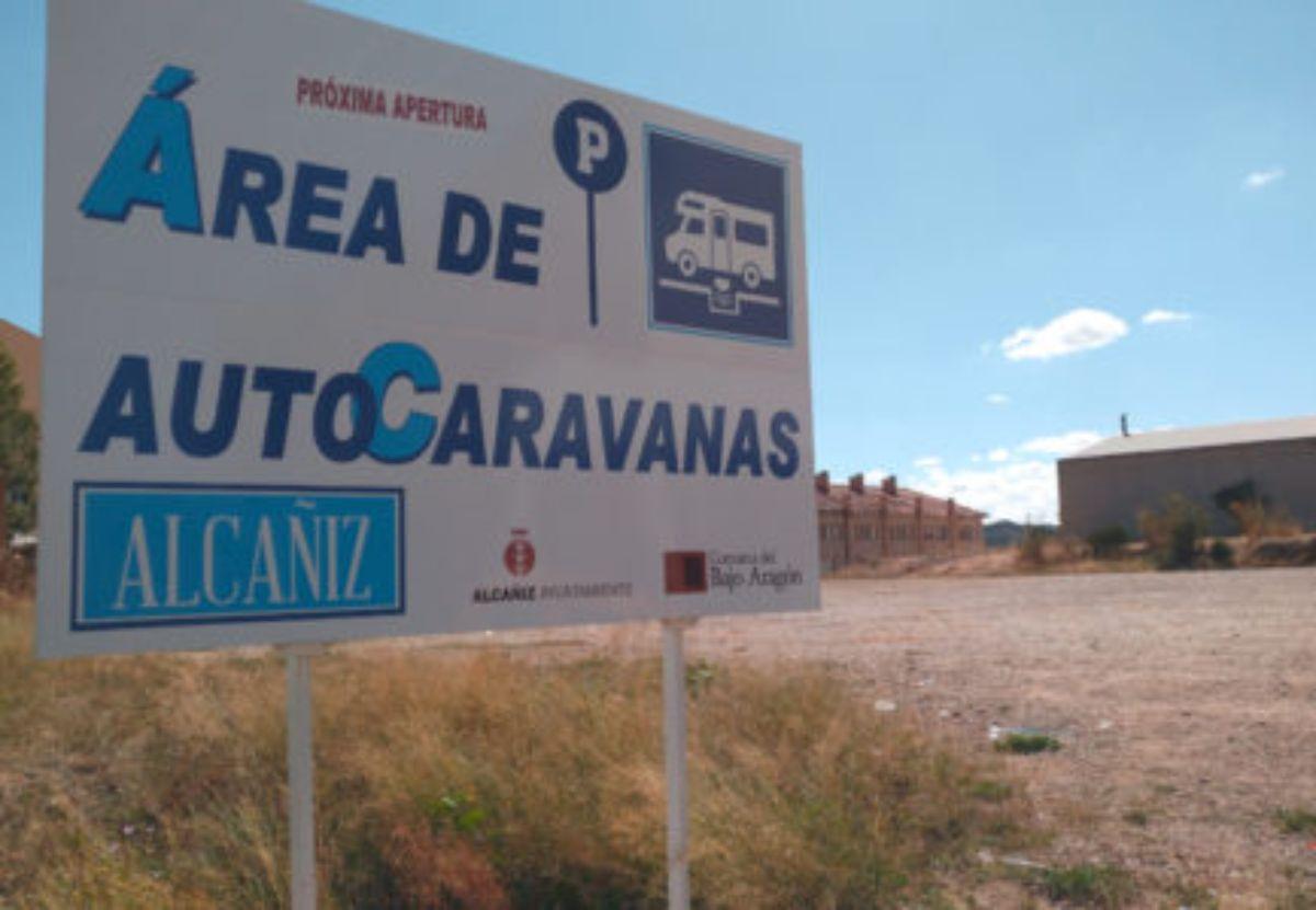Alcañiz comenzará la próxima semana las obras de su parquin de autocaravanas
