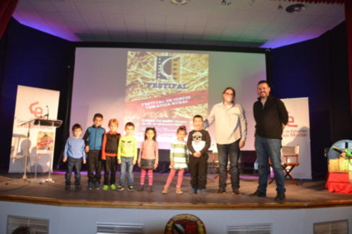 Los escolares abren con sus cortometrajes un FestiFal más que consolidado
