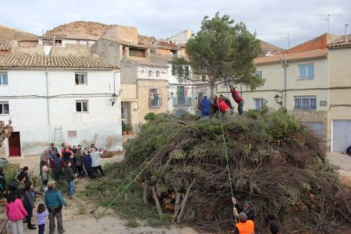 Los vecinos de Castelnou, subiendo la Copa