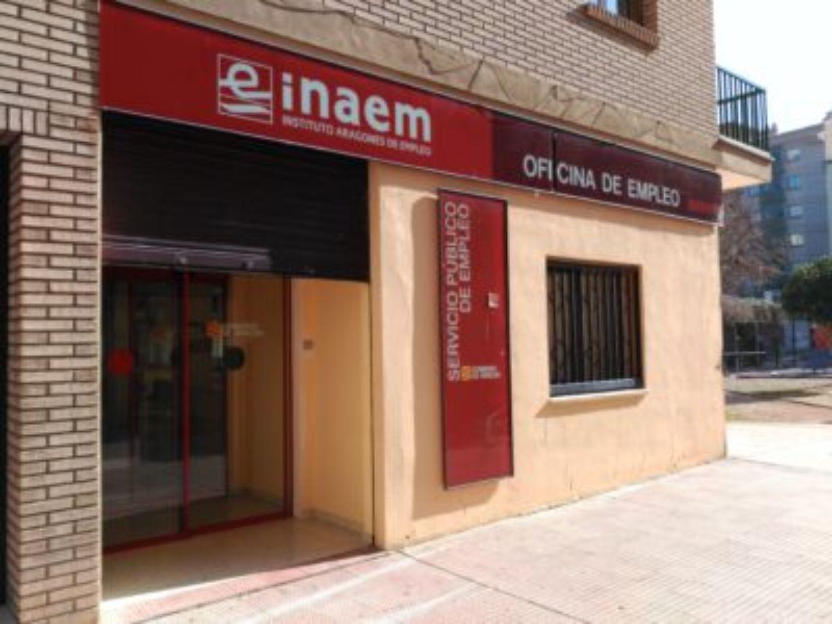 La oficina del INAEM en Alcañiz
