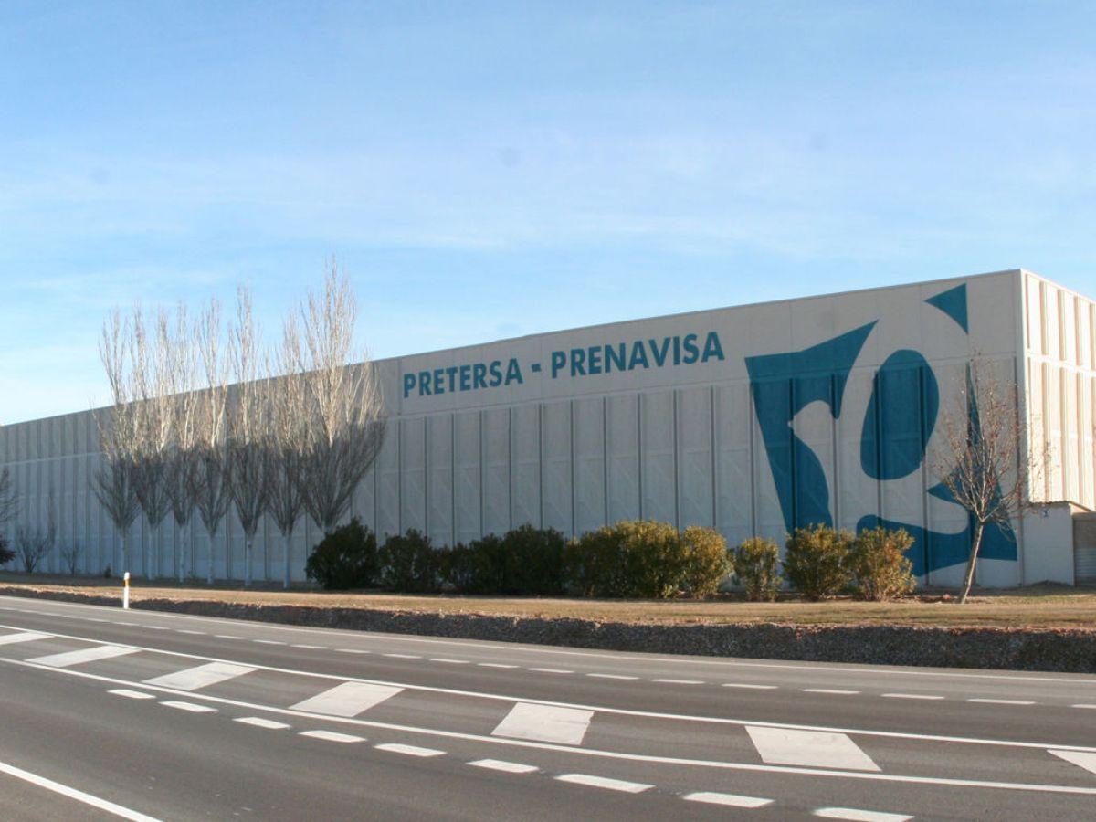 Imagen de archivo del las instalaciones de Prenavisa en La Puebla de Híjar./ L.C.