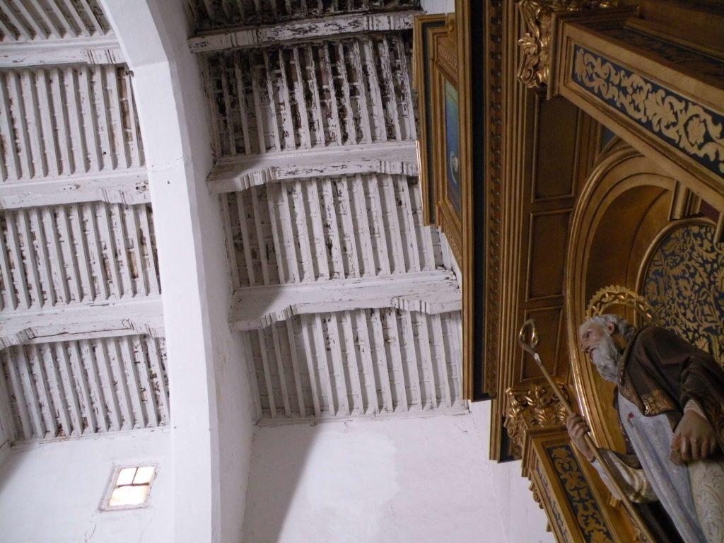 sinagoga-hijar-techumbre-antes