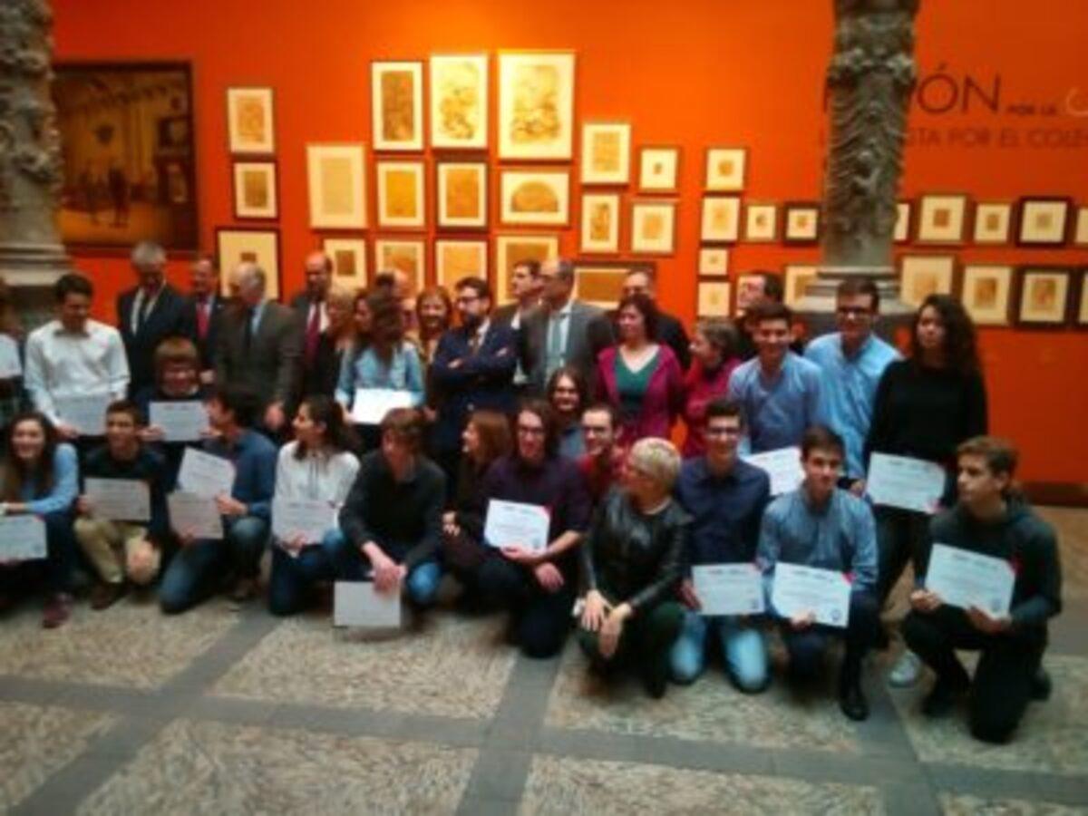 entrega premios olimpiada matematica aragon junco