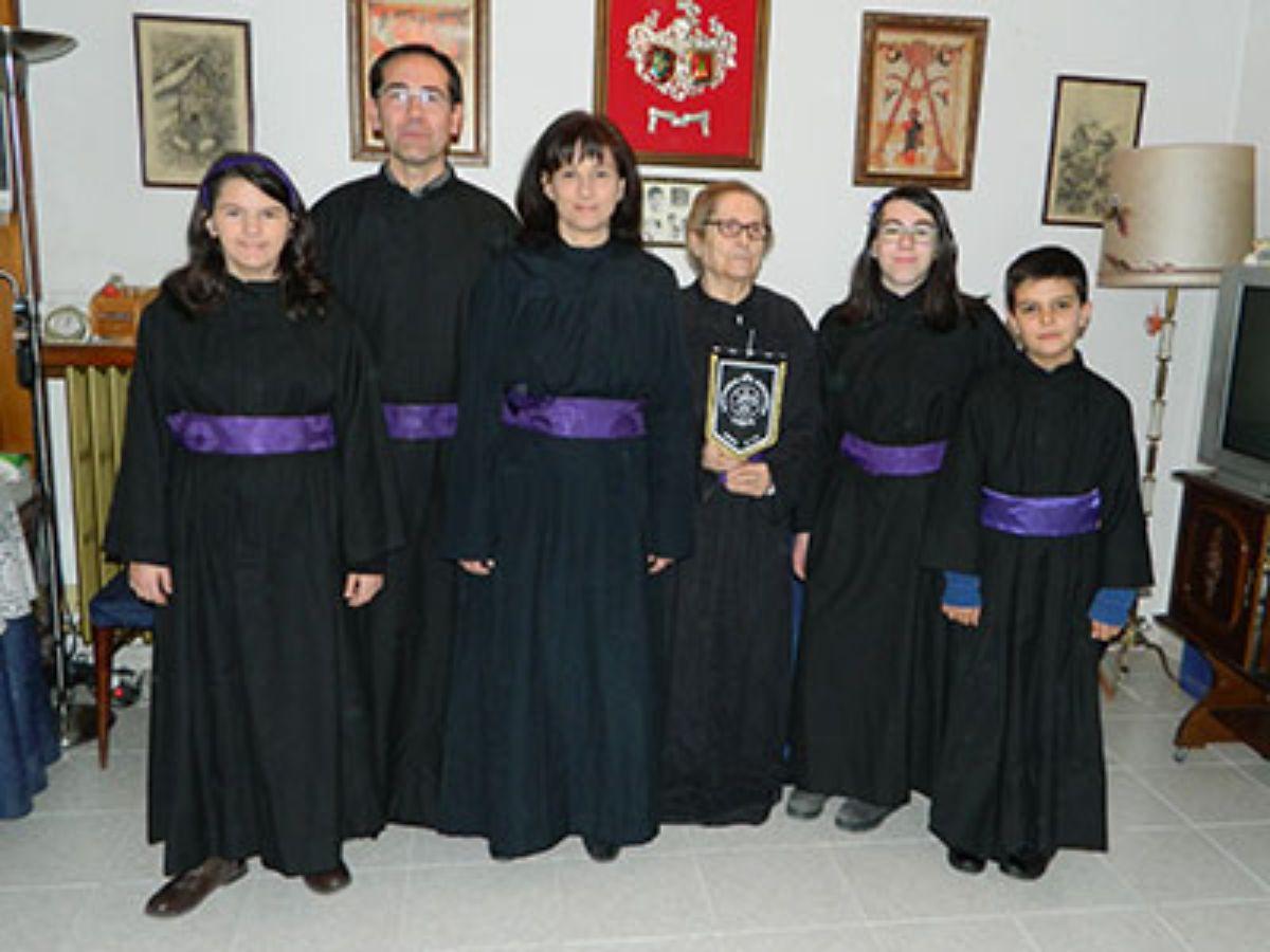 Familia Molina-Moré en Semana Santa