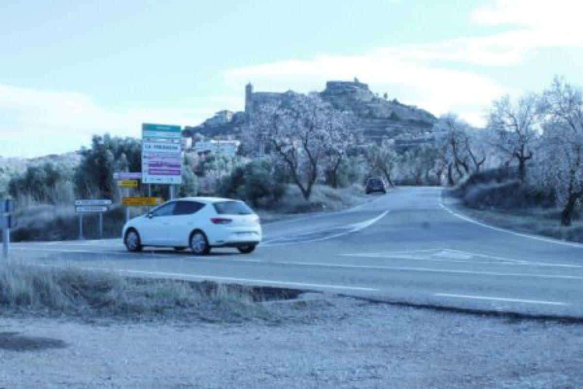 fresneda carretera