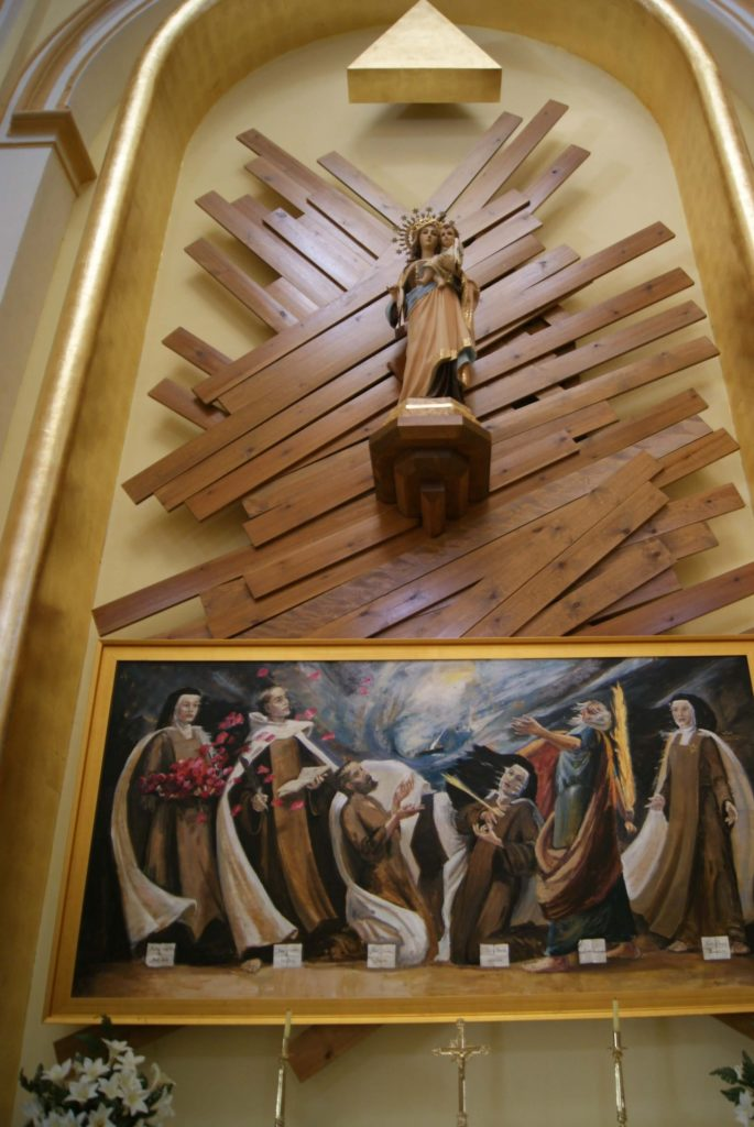 la puebla semana santa tambor honor altar