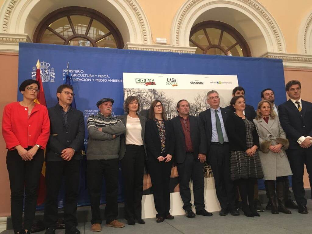 Foto final del homenaje Iranzo en Madrid