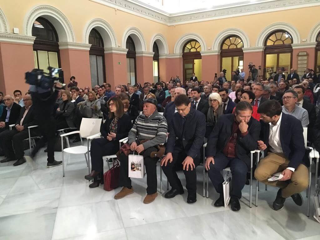 homenaje iranzo sala ministerio