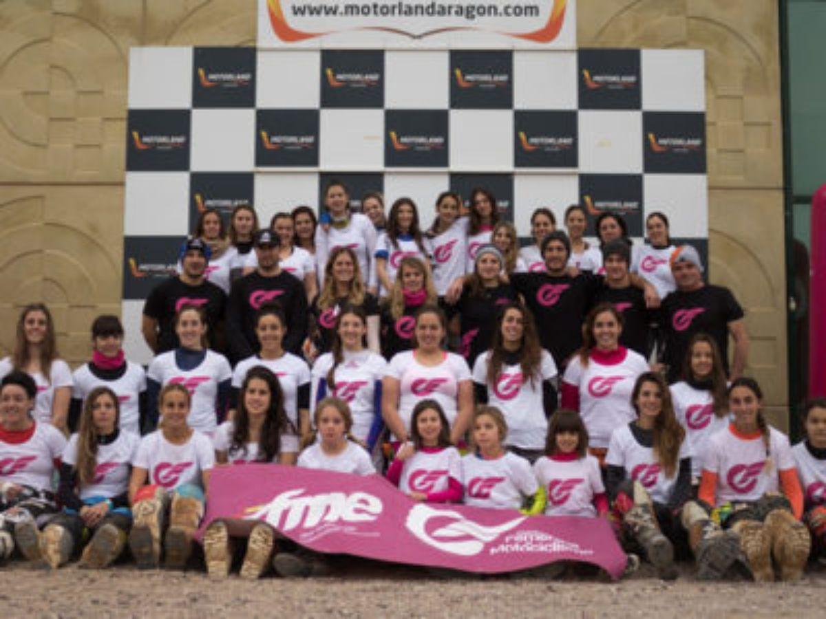 motorland campus femenino motociclismo