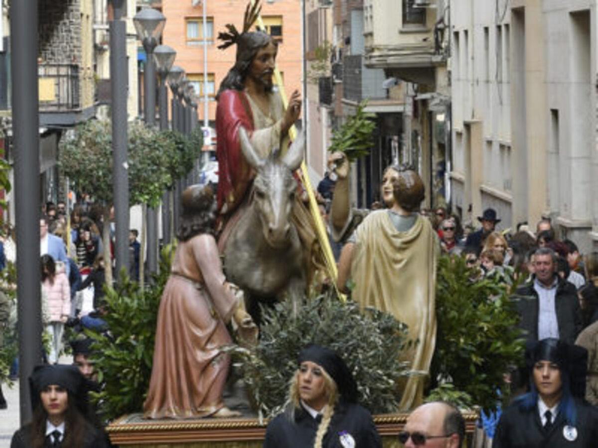 ramos alcaniz semana santa procesion