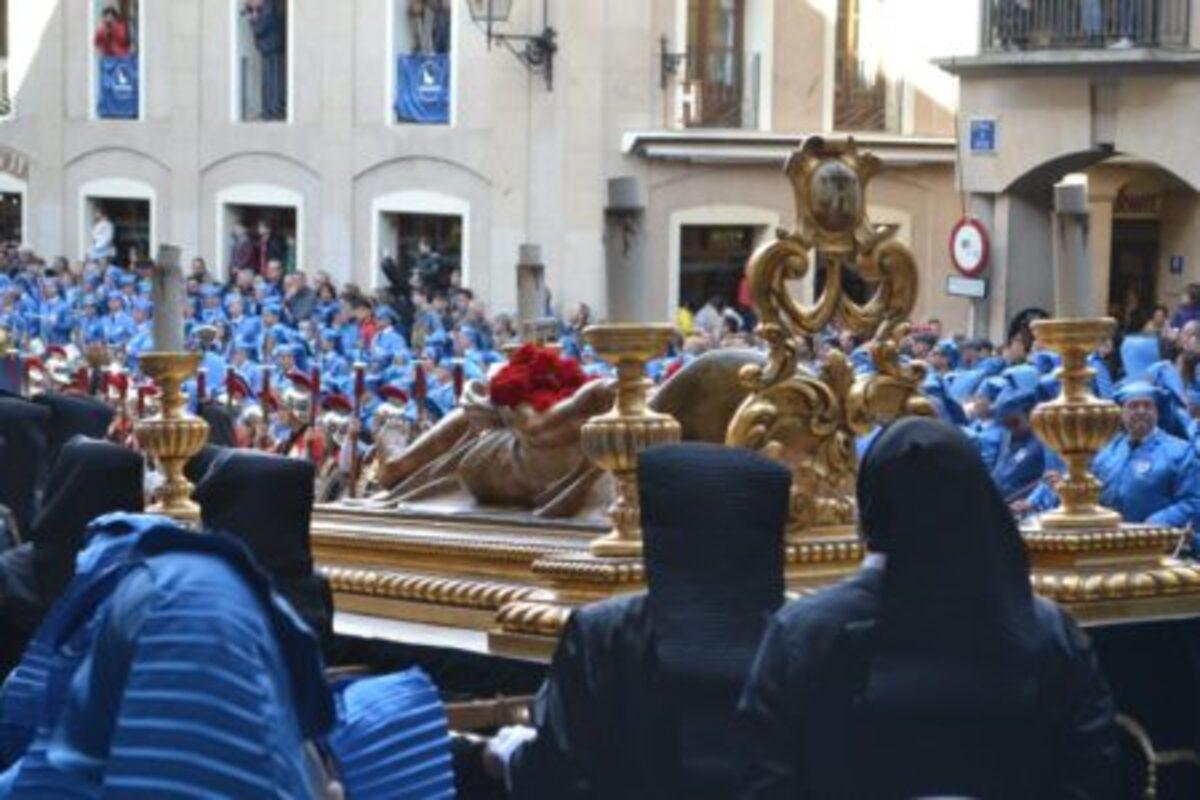 sellado sepulcro santo entierro alcaniz
