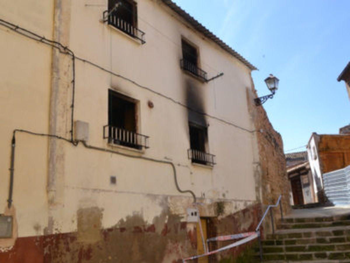 alcaniz incendio vivienda