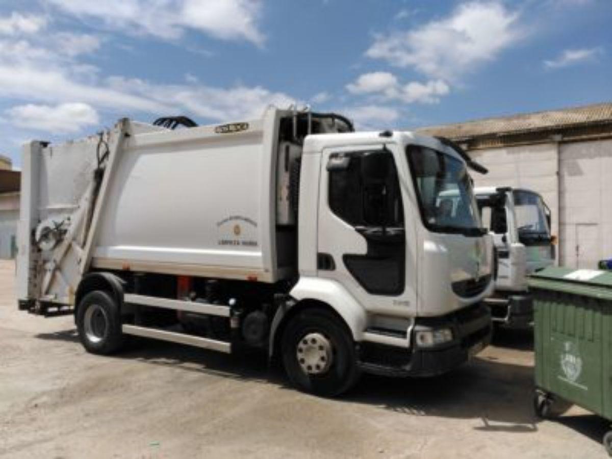 camion basuras alcaniz
