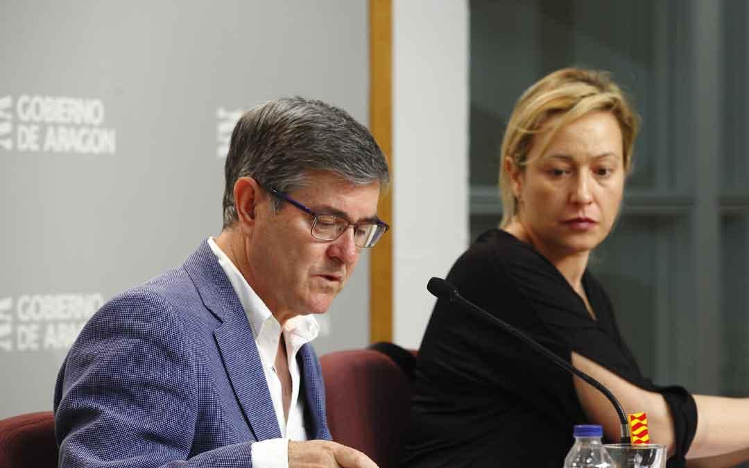 Guillén y Gastón, entre otros consejeros, representarán a Aragón en la comisión del lunes