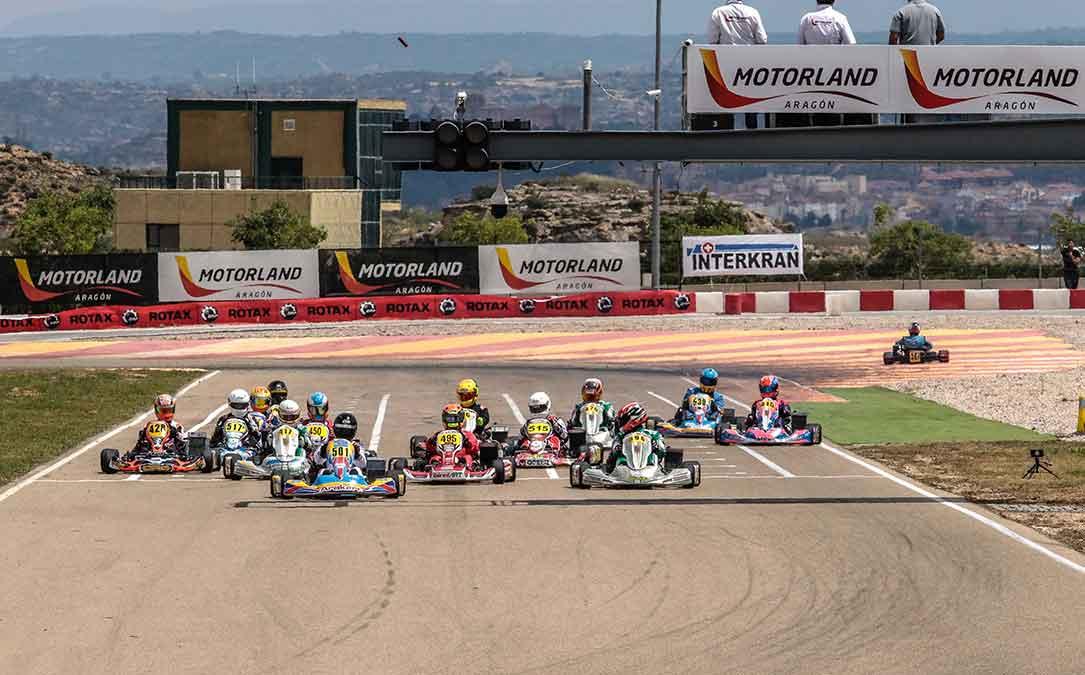 karting campeonato aragon y rotax series