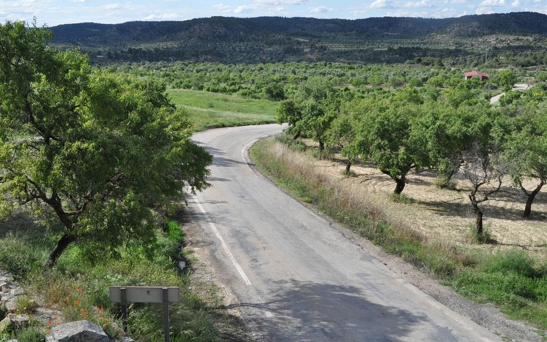 la fresneda carretera