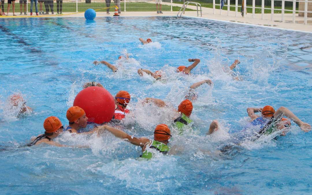 prueba natacion triatlon