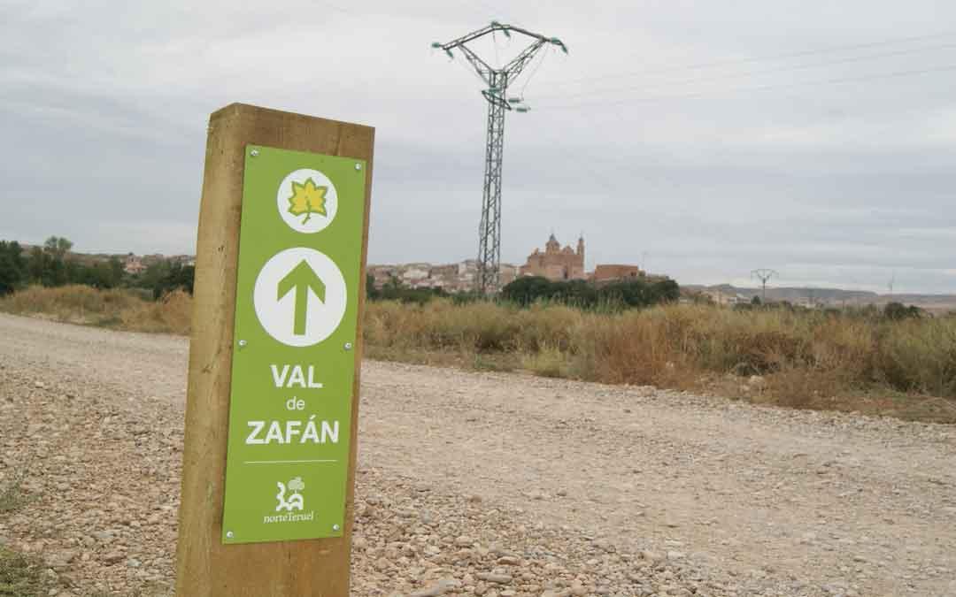 El Bajo Martín quiere potenciar el GR 262 y la Vía Verde Val de Zafán con varias mejoras