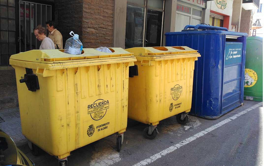reciclaje contenedores alcaniz