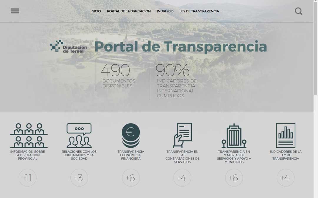 teruel-diputacion-web-transparencia