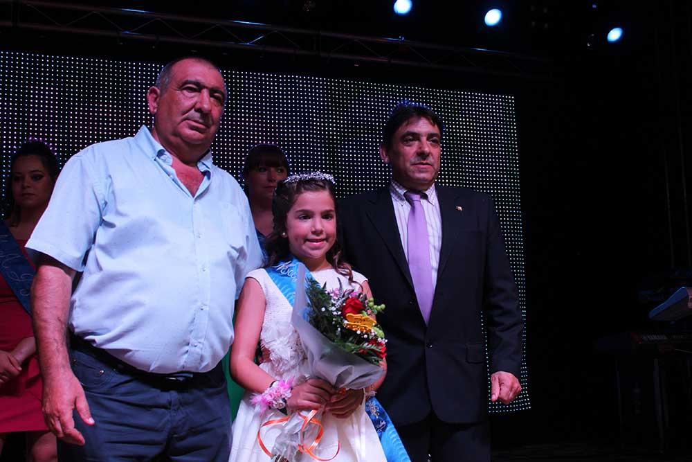 Maja Infantil 2018 con el Alcalde de Samper