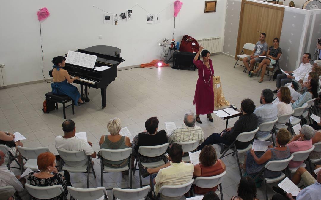 Música en directo para comenzar el curso de canto 'Elvira de Hidalgo'