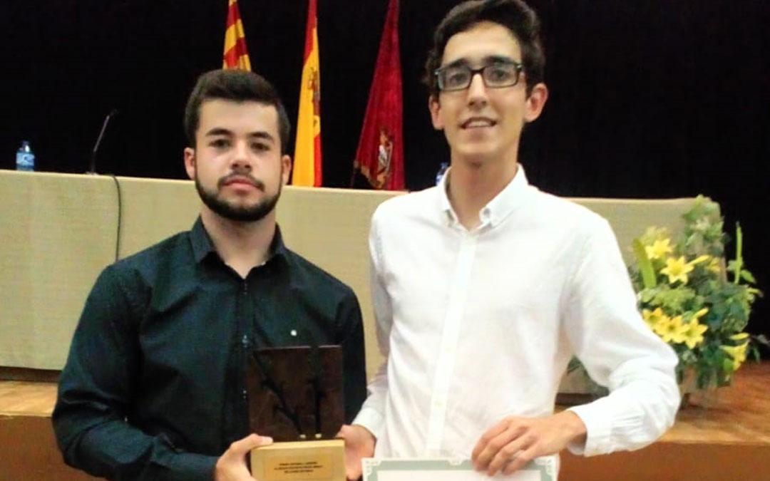 David Vidal y Guillermo Ollés, ganadores del concurso Antonio Diestre la pasada edición. / La Comarca