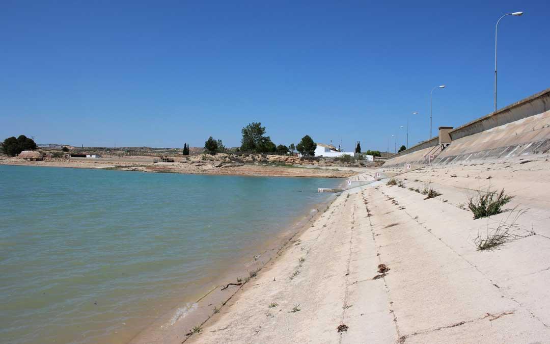 La Estanca de Alcañiz es una de las infraestructuras en las que se trabajará.