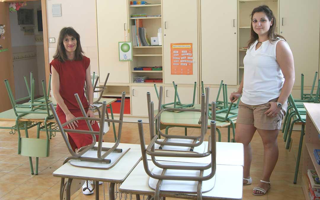 foz calanda colegio niños profesores padres