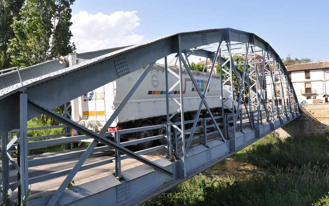 Puente de Hierro de Valderrobres