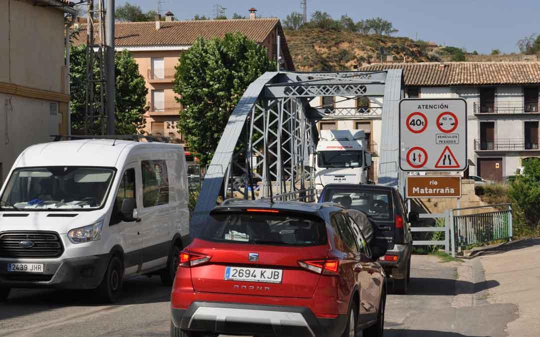 DGA actuará en el puente de Hierro de Valderrobres