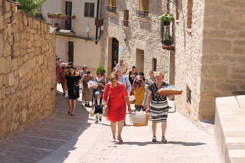 San Cristóbal en el Bajo Aragón Histórico