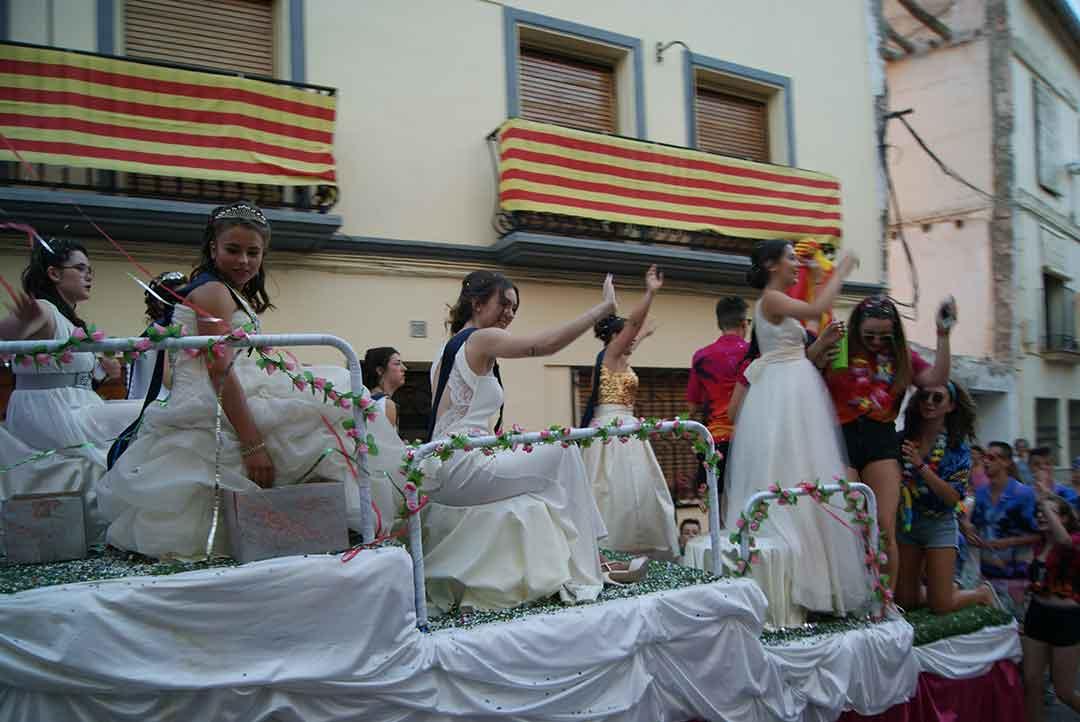 Desfile de carrozas en La Puebla