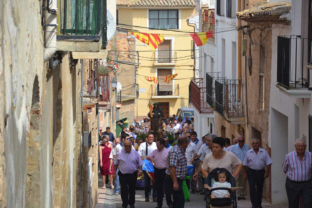 Misa y procesión a San Roque en Chiprana