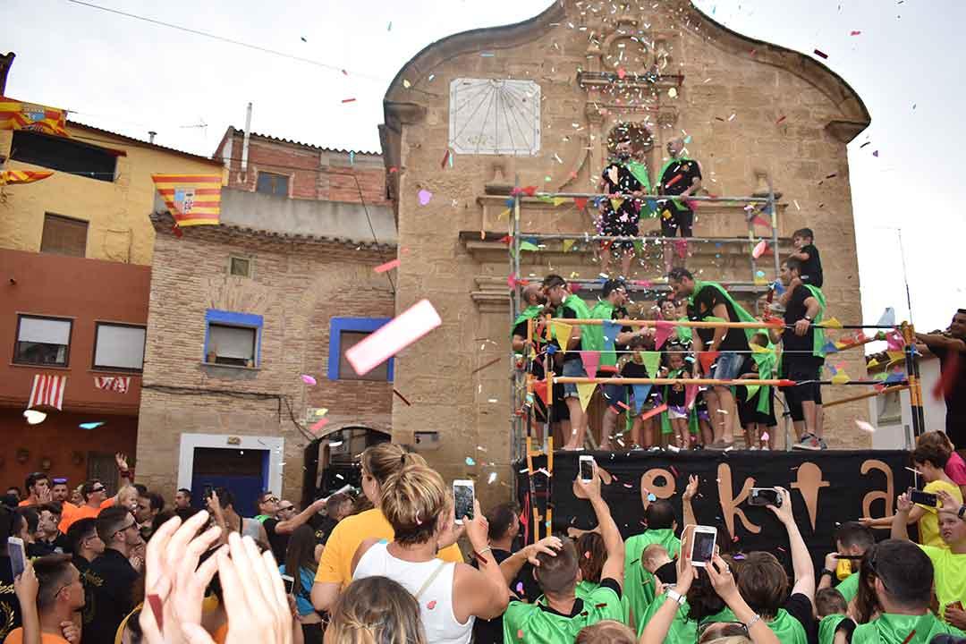 Puesta del pañuelo a San Roque
