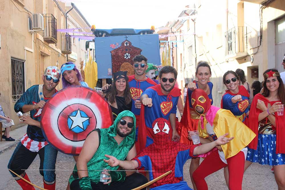 Carroza de Super-heroes