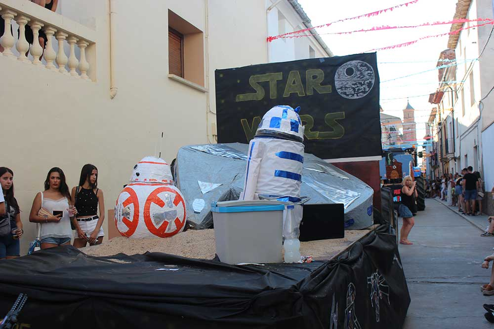 Star wars en Samper