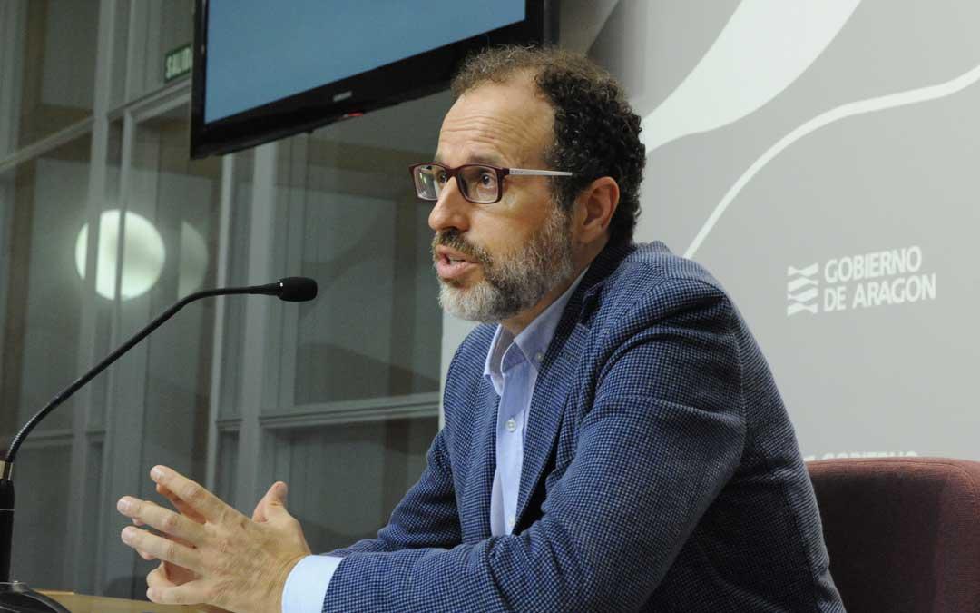 El director general de Desarrollo Rural, Jesús Nogués