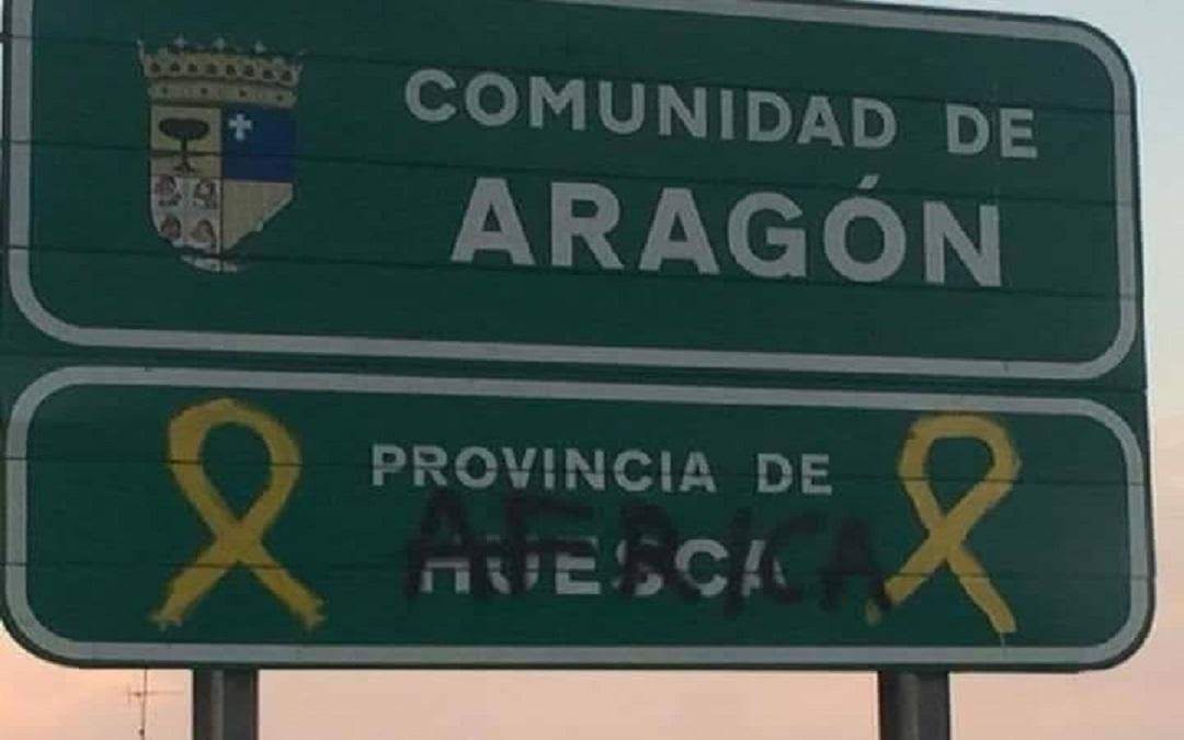 Cartel Aragon Cataluña